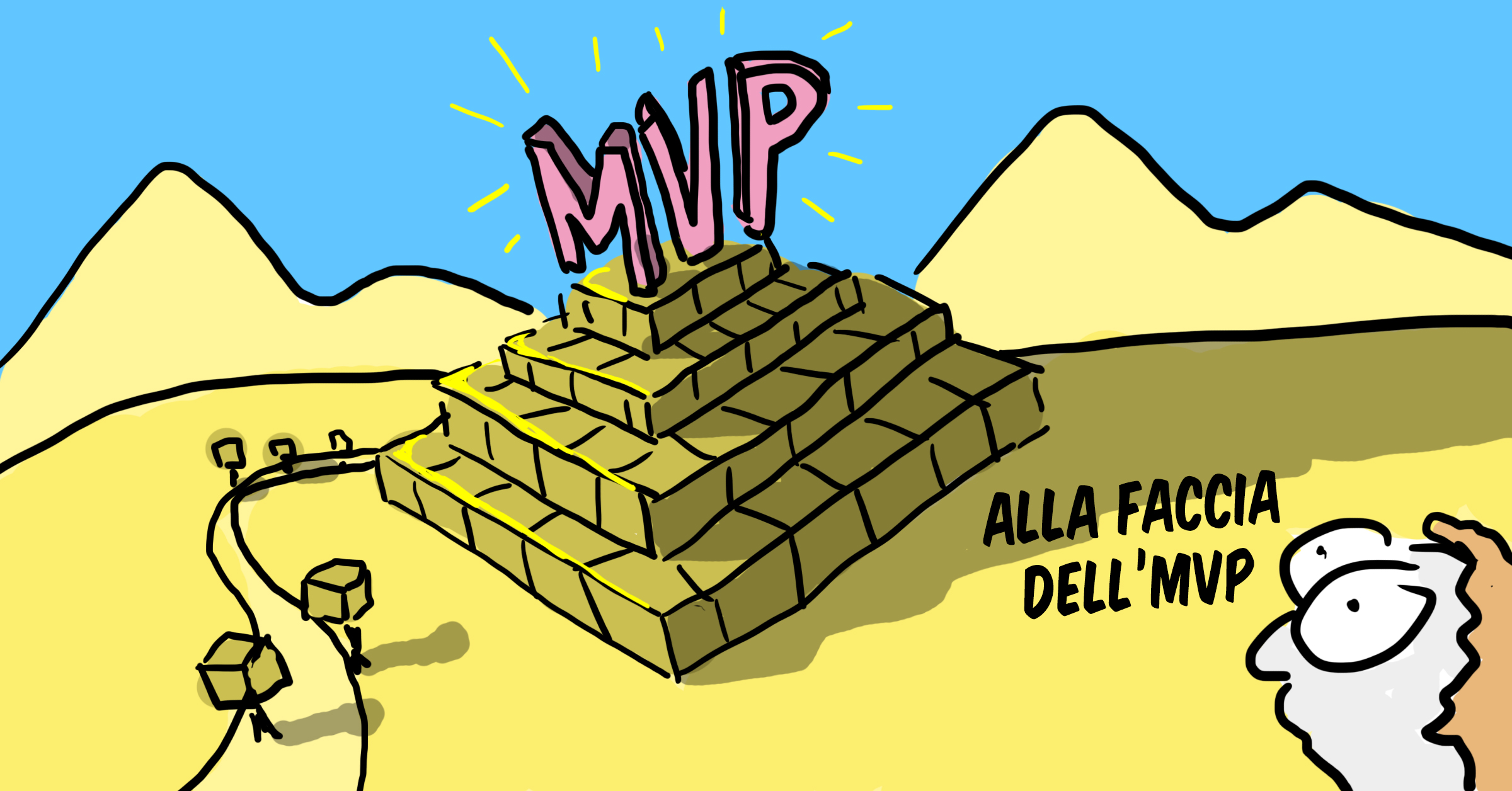 Minimum Viable Product (MVP): Minimum non è una metafora.